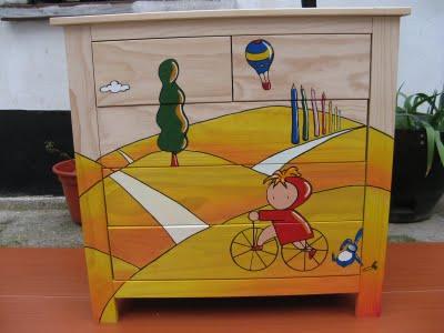 Renovar muebles con pintura restaurador - Armarios pintados a mano ...